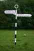 North Riding Signpost