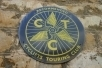 CTC Round Enamel sign
